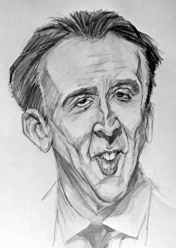 Nicolas Cage par linshyhchyang